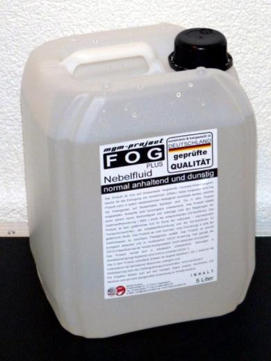 FOGplus Nebelfluid normal anhaltend und dunstig, 5L