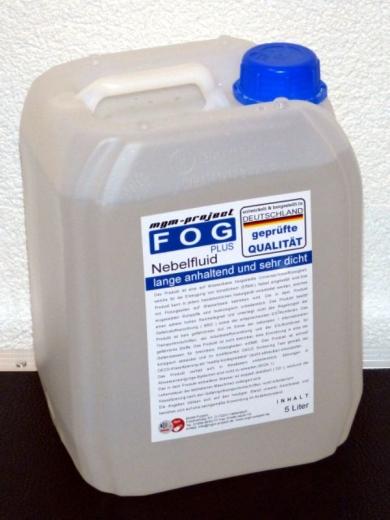 FOGplus Nebelfluid lange anhaltend und sehr dicht, 5L