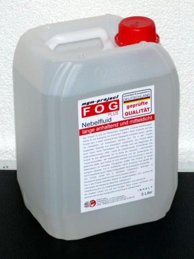 FOGplus Nebelfluid lange anhaltend und mitteldicht, 5L