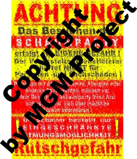 10x Infoplakat DIN A1